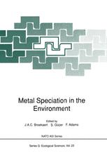 Metal Speciation in the Environment