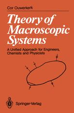 Theory of Macroscopic Systems