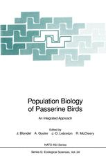 Population Biology of Passerine Birds