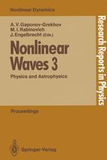 Nonlinear Waves 3