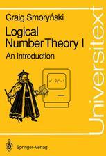 Logical Number Theory I
