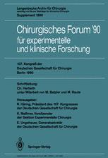 107. Kongreß der Deutschen Gesellschaft für Chirurgie Berlin, 17.–21. April 1990