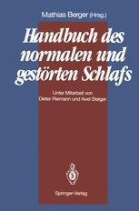 Handbuch des normalen und gestörten Schlafs