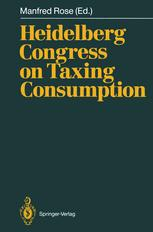 Heidelberg Congress on Taxing Consumption