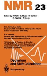 Deuterium and Shift Calculation