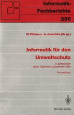 Informatik für den Umweltschutz