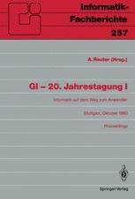 GI - 20. Jahrestagung I