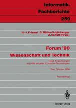 Forum '90 Wissenschaft und Technik