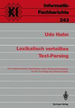 Lexikalisch verteiltes Text-Parsing