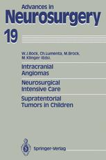 Intracranial Angiomas Neurosurgical Intensive Care Supratentorial Tumors in Children