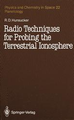 Radio Techniques for Probing the Terrestrial Ionosphere