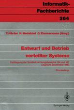 Entwurf und Betrieb verteilter Systeme