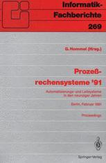 Prozeßrechensysteme '91