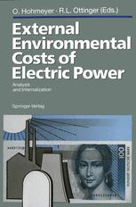 External Environmental Costs of Electric Power