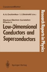 Electron-Electron Correlation Effects in Low-Dimensional Conductors and Superconductors