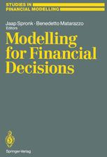 Modelling for Financial Decisions