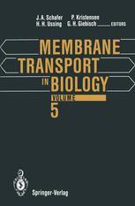 Membrane Transport in Biology