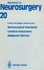 Neurosurgical Standards Cerebral Aneurysms Malignant Gliomas