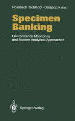Specimen Banking