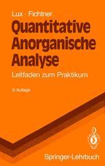 Quantitative Anorganische Analyse