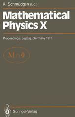 Mathematical Physics X
