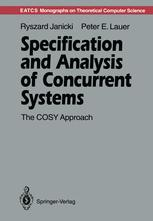 Specification and Analysis of Concurrent Systems