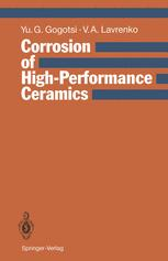 Corrosion of High-Performance Ceramics