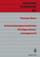 Entscheidungsorientiertes Konfigurationsmanagement