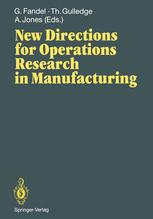 New Directions for Operations Research in Manufacturing