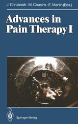 Advances in Pain Therapy I