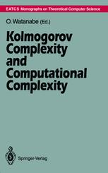 Kolmogorov Complexity and Computational Complexity