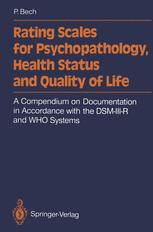 Rating Scales for Psychopathology, Health Status and Quality of Life