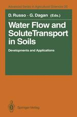 Water Flow and Solute Transport in Soils