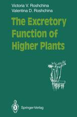 The Excretory Function of Higher Plants