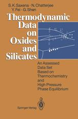 Thermodynamic Data on Oxides and Silicates