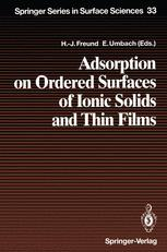 Adsorption on Ordered Surfaces of Ionic Solids and Thin Films