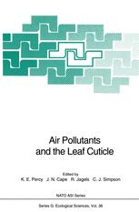 Air Pollutants and the Leaf Cuticle