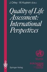 Quality of Life Assessment: International Perspectives