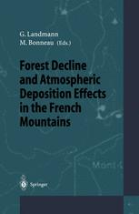 Forest Decline and Atmospheric Deposition Effects in the French Mountains