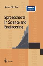 Spreadsheets in Science and Engineering