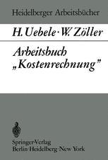 """Arbeitsbuch """"Kostenrechnung"""""""