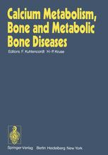 Calcium Metabolism, Bone and Metabolic Bone Diseases
