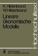 Lineare ökonomische Modelle