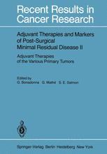 Adjuvant Therapies and Markers of Post-Surgical Minimal Residual Disease II