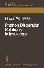 Phonon Dispersion Relations in Insulators