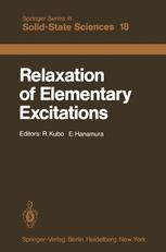 Relaxation of Elementary Excitations