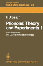 Phonons: Theory and Experiments I