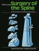 Surgery of the Spine