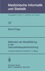 Methoden der Modellbildung in der Gesundheitssystemforschung