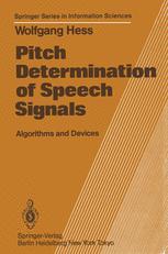 Pitch Determination of Speech Signals